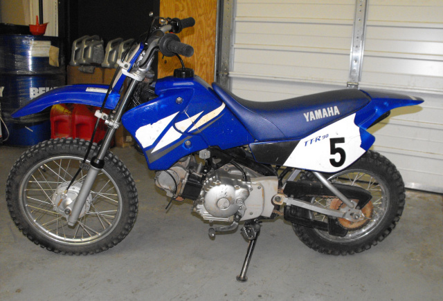 Sold yamaha ttr90 for Yamaha ttr 90